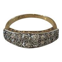 Edwardian Old European Cut Diamond Ring