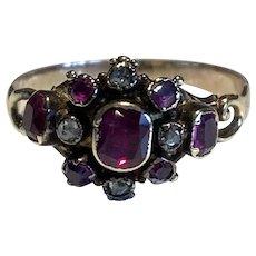 Georgian Ruby Antique Ring