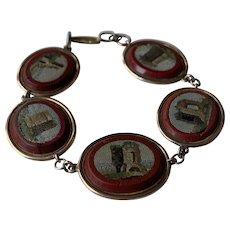 Grand Tour Micro Mosaic Bracelet