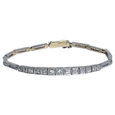 Art Deco 0.87ct Diamond Bracelet