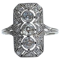 1920s Diamond Ring