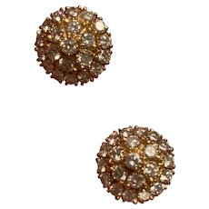 2.1ct Diamond 22 Karat Gold Earrings