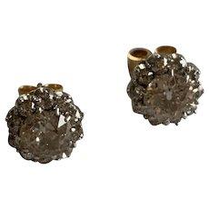 2.5ct Antique Victorian Diamond Earrings