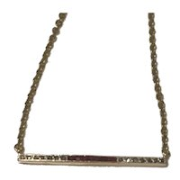 Ruby and Diamond Art Deco Brooch Conversion Necklace