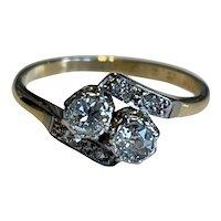 A 1940s Diamond Ring