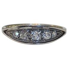 Antique Old Cut Diamond Engagement Ring