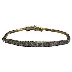 Art Deco Diamond Bracelet 1.25cts