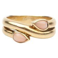 A Van Cleef and Arpels Coral Ring