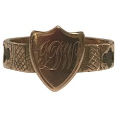 An Antique Mourning Ring