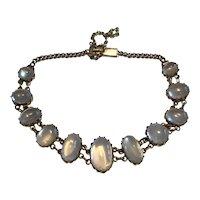 A Victorian Moonstone Bracelet