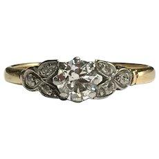 0.5ct Diamond Engagement Ring