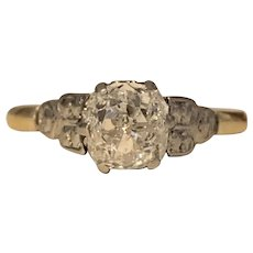 An Old Cut 1.2ct Diamond Ring
