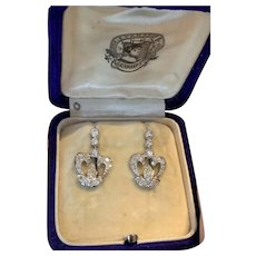 Antique Old Cut Diamond Earrings