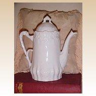 Children's Victorian Chocolate or Coffee Pot