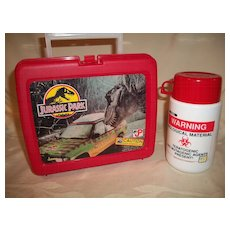 Jurassic Park Lunchbox and Thermos