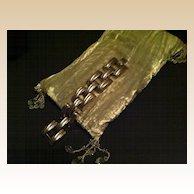 Tank Track Bracelet - Silver Toned