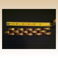 Tank Track Bracelet - Gold Toned