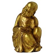 Chinese Gilt Bronze Figure