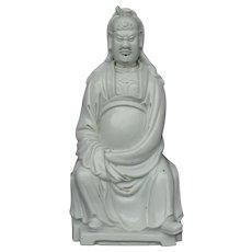 Chinese Blanc de Chine Wen Chang
