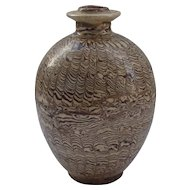 Chinese Jiaotai Marbled Jar