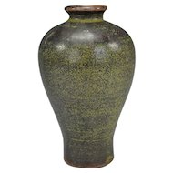 Chinese Teadust Melping Vase
