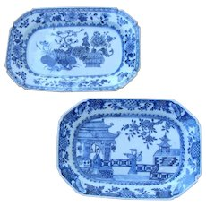 Chinese Blue and White Serving Dishes