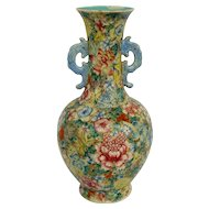 Chinese Mille Fleur Vase