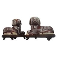 Chinese Figures of Dogs (Pair)