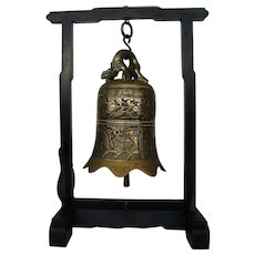 Chinese Bronze Temple Bell