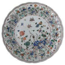 Chinese Famille Verte Charger Kangxi Period