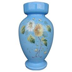 Milk Glass Vase - Bristol