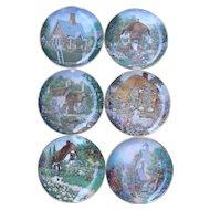 Lilliput Lane Collector Plates