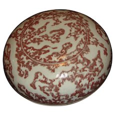 Chinese Porcelain Covered Box
