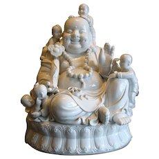 Chinese Blanc de Chine Budai