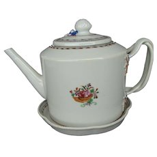 Chinese Teapot and Stand