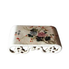 Chinese Porcelain Wrist Rest