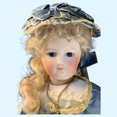 Stunning , early French fashion doll! ,