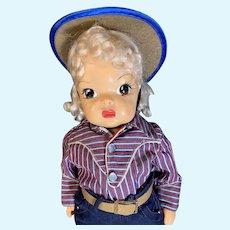 Terri Lee   As a cowgirl!
