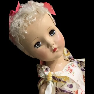 "Beautiful 1950's  Hard Plastic "" Nancy Lee"""