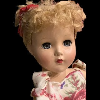 "All Original   1950's Hard Plastic 'Nancy Lee"""
