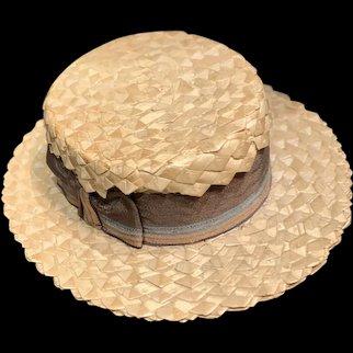 Antique Straw Doll Hat...