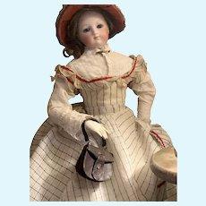 Old French fashion doll purse!