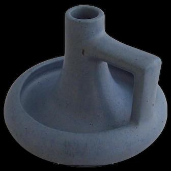 Fulper Pottery Prang Chamberstick Candle Holder