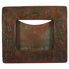 Tiffany Studios Bronze Zodiac Picture Frame Stunning Patina Arts & Crafts