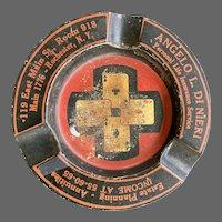 Vintage Advertising Ashtray Insurance Co Rochester NY