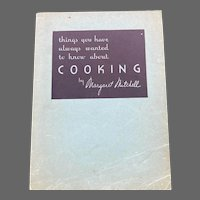 1932 Cooking by Margaret Mitchell Wear-Ever Aluminum Cooking Utensil