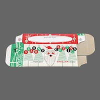 Sinclair Oil Co Holiday Christmas Santa NOS Gift Box