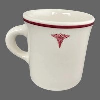 Vintage US United States Army Medical Dept Coffee Mug Military