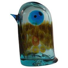 """Antonio Da Ros """" Pulcino """" Cenedese Murano Glass Bird Mid Century Modern c.1960s"""