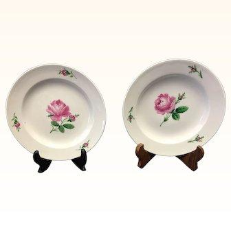 Pair of Meissen Porcelain Decorative Plates